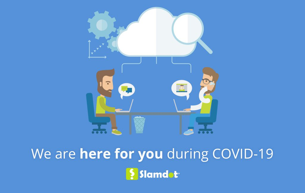 We are here for you during COVID-19